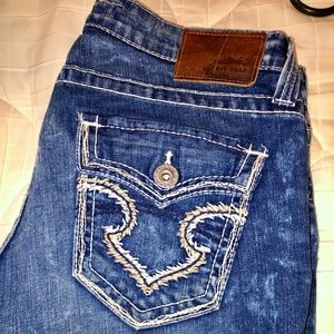 BIG STAR CROPPED JEANS
